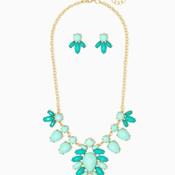 Darling Cluster Necklace Set | Fashion Jewelry | charming charlie