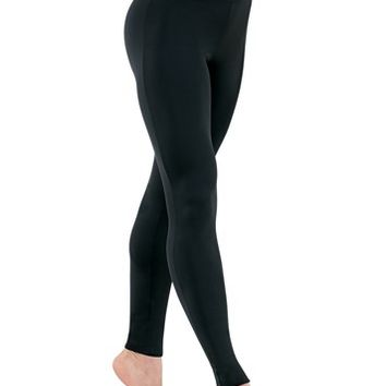 Nylon High-Waist Leggings