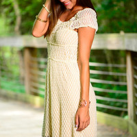 The Sophie Dress, Ivory