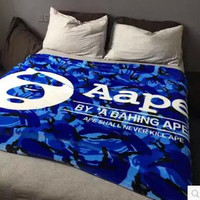 A Bathing Ape / Bape Coral  Blanket