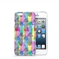 Pineapples Iphone 6 case, Iphone 6 Case Plastic Hard White Cover Skin Case (4.7'' Screen)-Quindyshop