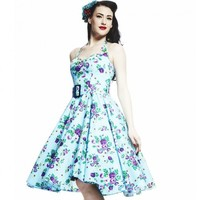 Hell Bunny May Day Rockabilly Dress | Classic Vintage Floral Design