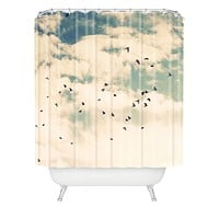 Shannon Clark Summer Flight Sight Shower Curtain