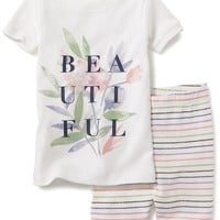 Graphic Sleep Tee and Shorts Set for Baby | Old Navy