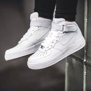 NIKE Women Men Running Sport Casual Shoes Sneakers Heudauo high tops WHITE HIGH QUALI