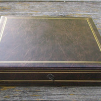Vintage Sears Photo Treasure Chest Bookshelf Album