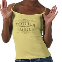 Vintage Tequila Girl Tees from Zazzle.com