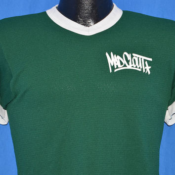 90s Madclout Hip Hop Mesh Ringer t-shirt Small