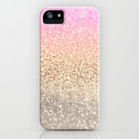 GATSBY PINK iPhone & iPod Case by Monika Strigel