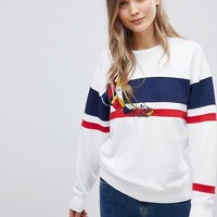 Polo Ralph Lauren Bring It Back Stripe Sailor Sweat at asos.com