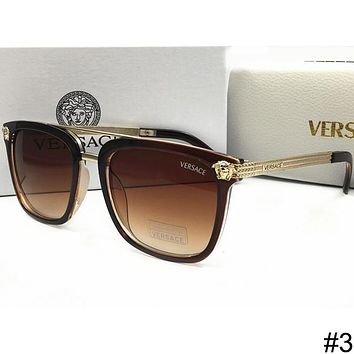 Versace New Men And Women With The Same Tide Brand Stylish Polarized Sunglasses F-WMYJ-YF #3