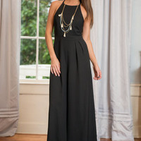 The Tabitha Jumpsuit, Black