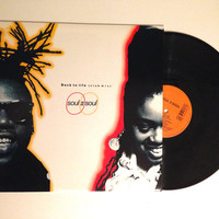 OCTOBER SALE Vinyl Record Soul II Soul Back To Life 12 Inch Single 1989 Lp Album Funk Soul Downtempo