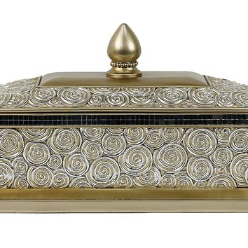 D'Lusso Designs Suzette Collection Large Jewelry Box