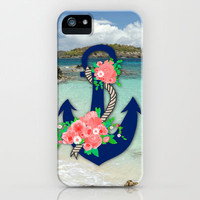 Anchors Away iPhone Case by Bri Delasole | Society6