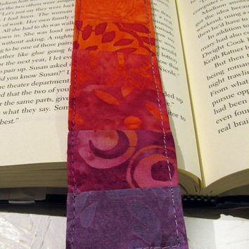 Quilted Bookmark Pumpkin Spice
