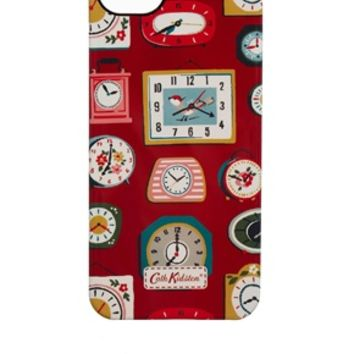 Cath Kidston Mini Clocks iPhone 5S Case - Red