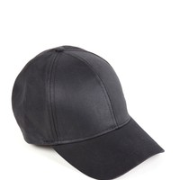 Black Laid Back Baseball Cap