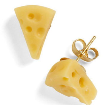 Cest Cheese Earrings | Mod Retro Vintage Earrings | ModCloth.com