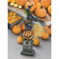 Park Avenue Collection Witchs Midnight Halloween Ride Statue