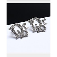 Dior fashion women fashion female earrings