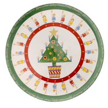 Christopher Radko It's Christmas Plate Tabletop
