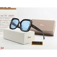 DIOR Newest Popular Women Men Casual Sun Shades Eyeglasses Glasses Sunglasses 3#