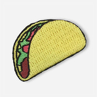 HIPSTAPATCH Taco Patch   Pins & Patches