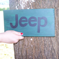 Car Logo Sign Toyota, 4x4, Chevy, Jeep, Ford, Hand Painted Wood Signs
