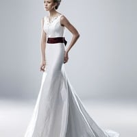 Wholesale Mermaid V Neck Floor Length Gown with Taffeta Mabel for $195.00 from China : IndeedBuyer.com.  - IndeedBuy