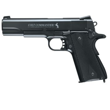 Umarex Colt Commander .177 Air Gun Steel BB Black