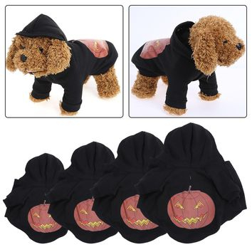 Winter Pet Dog Clothes Cute Pumpkin Halloween Dog Clothing for Small Dogs Festival Holloween Costume Pet Clothing