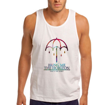 Bring Me The Horizon Nebula Galaxy Men Tank Top