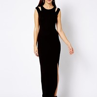 New Look Cut Out Shoulder Maxi Dress