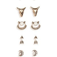 BP. 6-Pack Western Earrings | Nordstrom