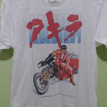 Vintage 90s Akira Fashion Victim T Shirt