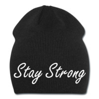 Stay Strong Knit Beanie