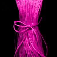 Hot Pink Satin Cord 2mm