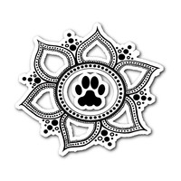 Paw Lotus 2015 Sticker