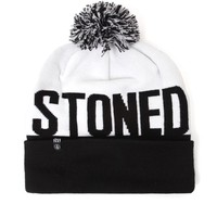 Volcom Stoned Pom Beanie - Mens Hats - Black - One