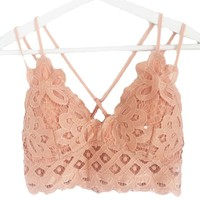Lacy Lacey Dusty Coral Bralette