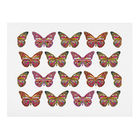 Bianca Green Butterflies Fly Art Print