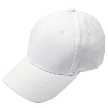 Wendywu spring summer fashion womens sport baseball caps ladies hats pink white black plain dad hats solid color