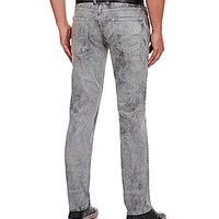 Guess Slim-Straight Low-Rise Jeans - Grunge