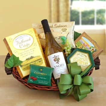 Cheers Wine Gift Basket