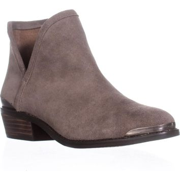 Lucky Brand Keezan Pull On Ankle Boots, Brindle, 6.5 US / 36.5 EU