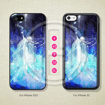 Disney Princess, Frozen, Phone Cases, iPhone 5S Case, iPhone 5 Case, iPhone 5C Case, iPhone 4 case, iPhone 4S case, Case--L51203