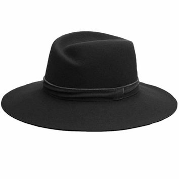 Rag & Bone Zoe Black Fedora