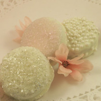 White Chocolate Covered Oreos - Weddings, Bridal Showers, Anniversary, Birthday Party, Special Events
