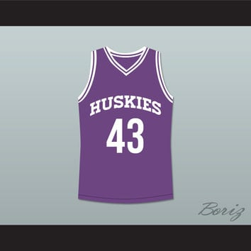 Marlon Wayans Kenny Tyler 43 Huskies Basketball Jersey The 6th Man